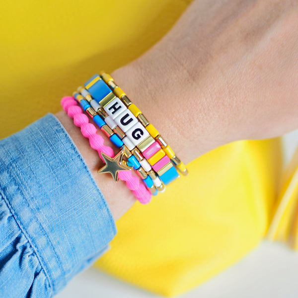 Little Squeeze Bracelet - BRIGHT BLUE