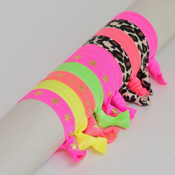 Leopard & Neon Hairbands | Gift Pop Boutique