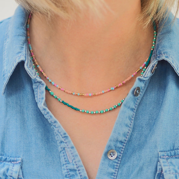 Asha Necklace - Green
