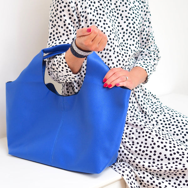 Cobalt Blue Tote | Gift Pop Boutique