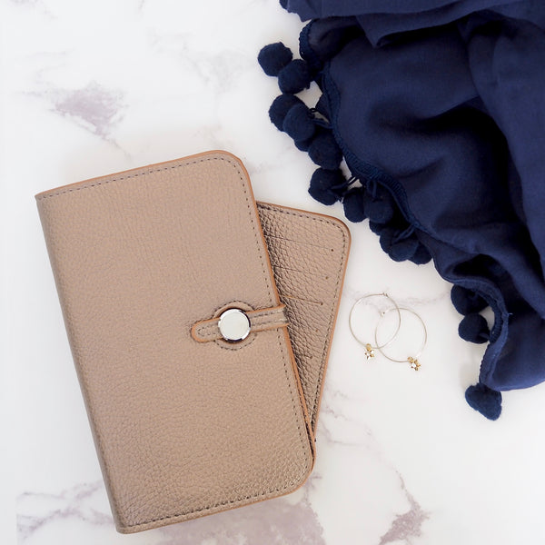 Wanderlust Wallet - Rose Gold