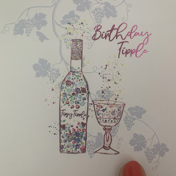 Birthday Tipple Card