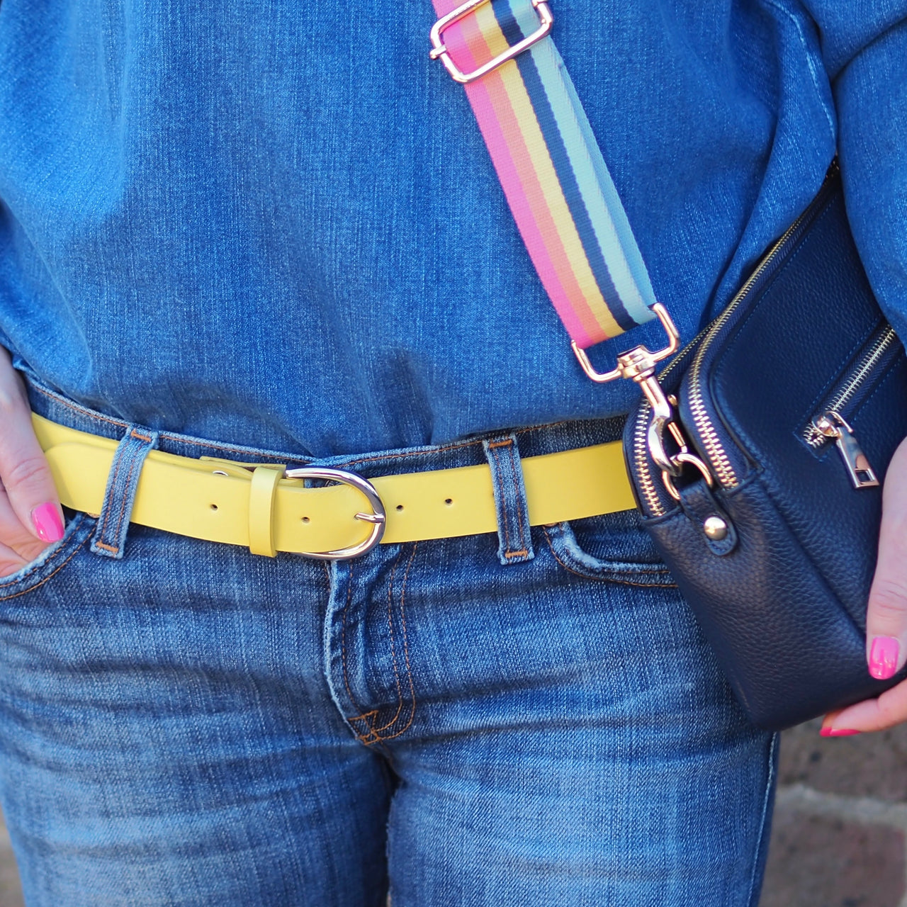 Belt - Bright Yellow