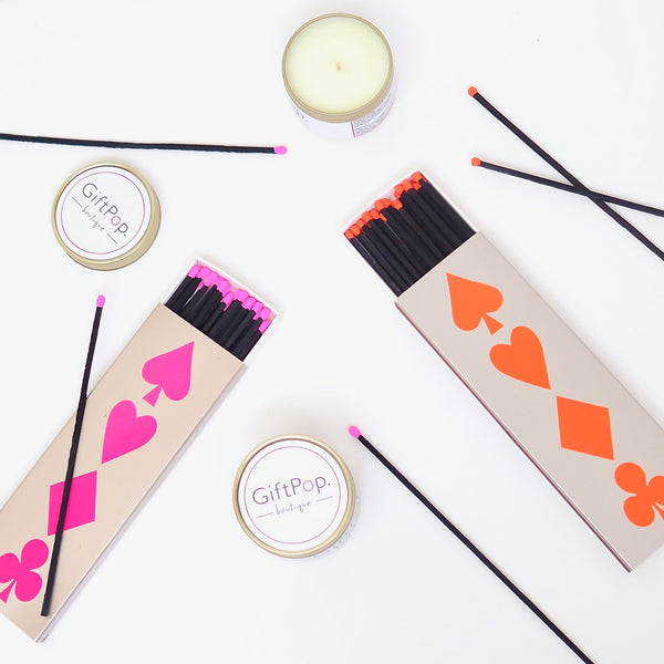 Matches - Neon Pink | Gift Pop Boutique