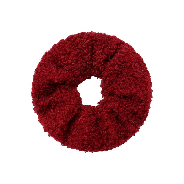 Teddy Scrunchie - Red