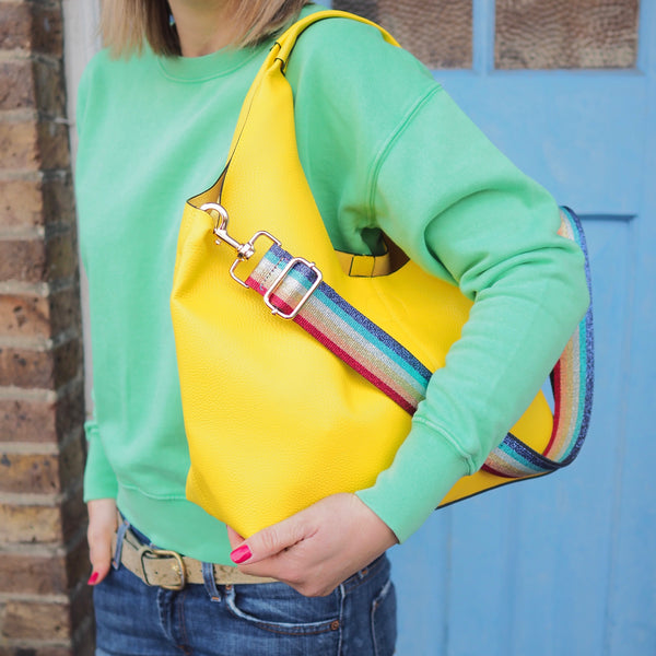 Bright Yellow Tote