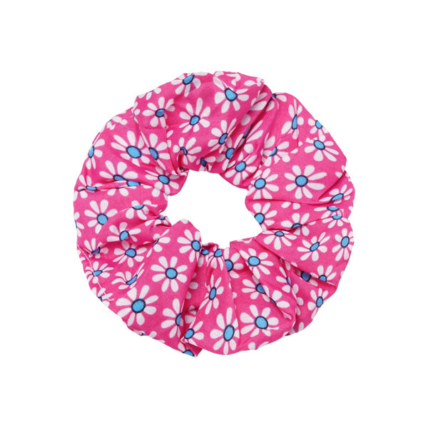 Spring Flowers Scrunchie - Pink