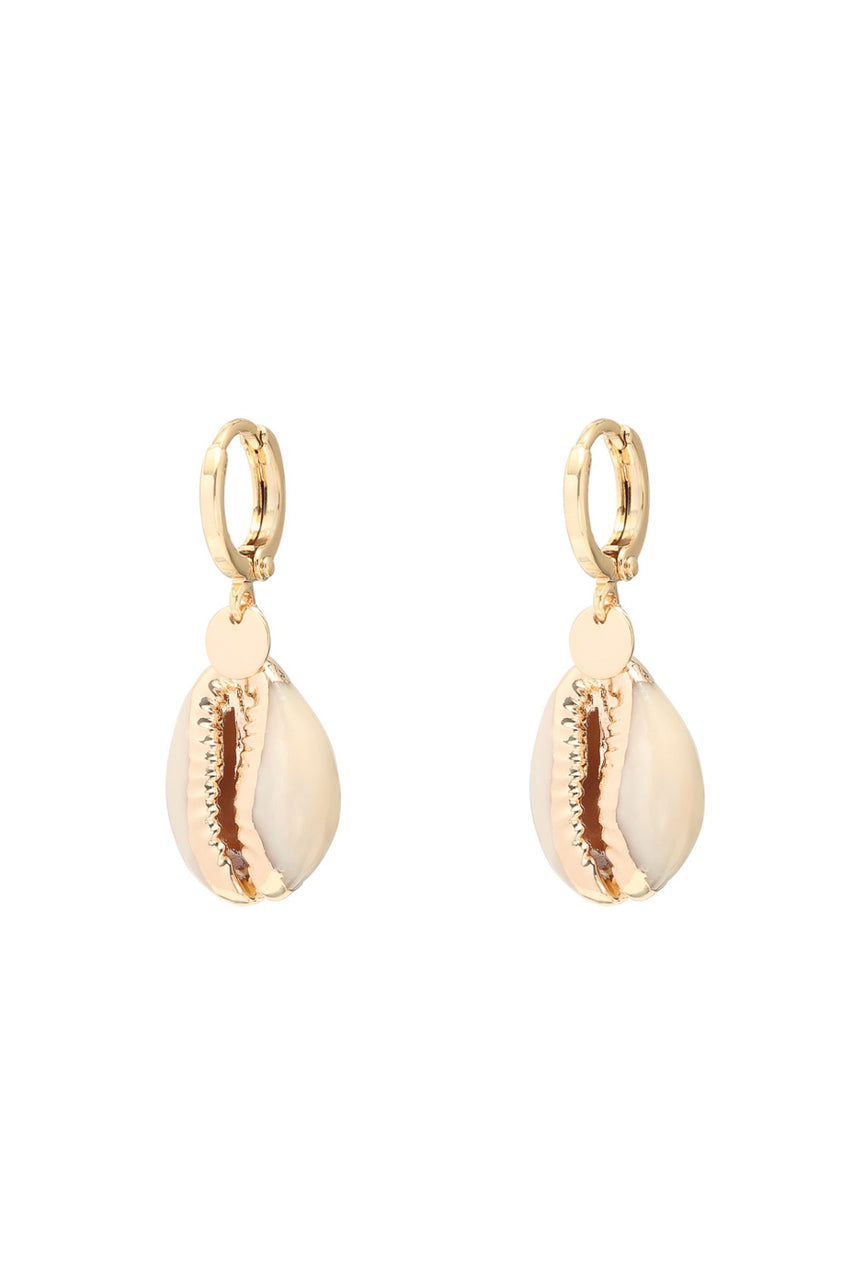 Shell Gold Mini Earrings | Gift Pop Boutique