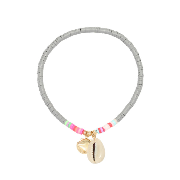 Beach Anklet Grey
