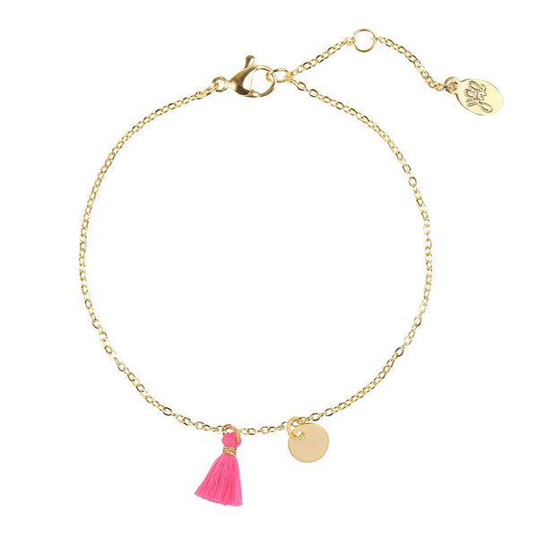 Tassel Bracelet PINK | Gift Pop Boutique