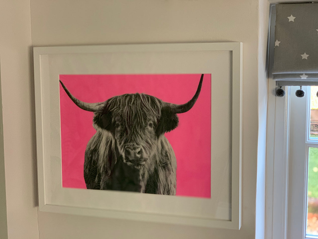 Rufus The Highland Cow Print | Gift Pop Boutique