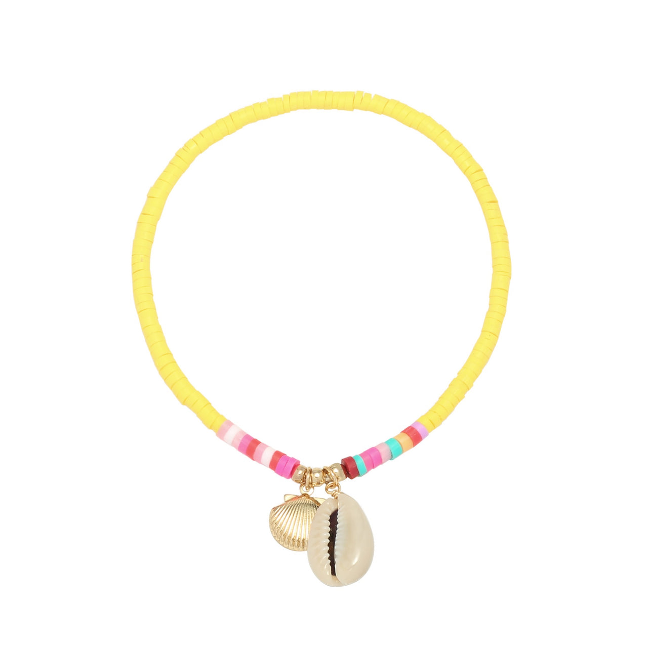 Beach Anklet Yellow