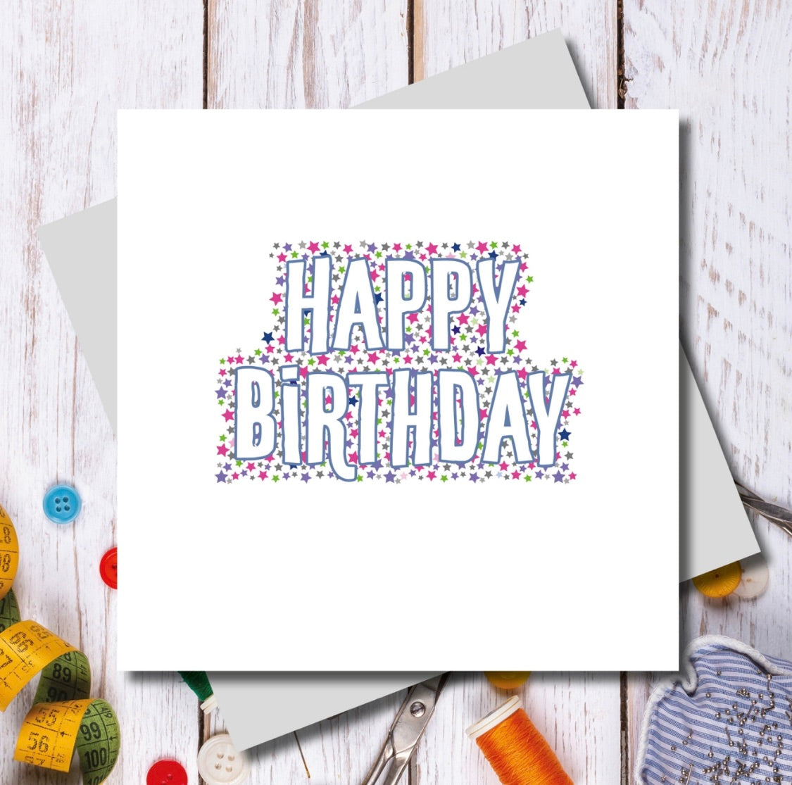 Happy Birthday Stars Card | Gift Pop Boutique