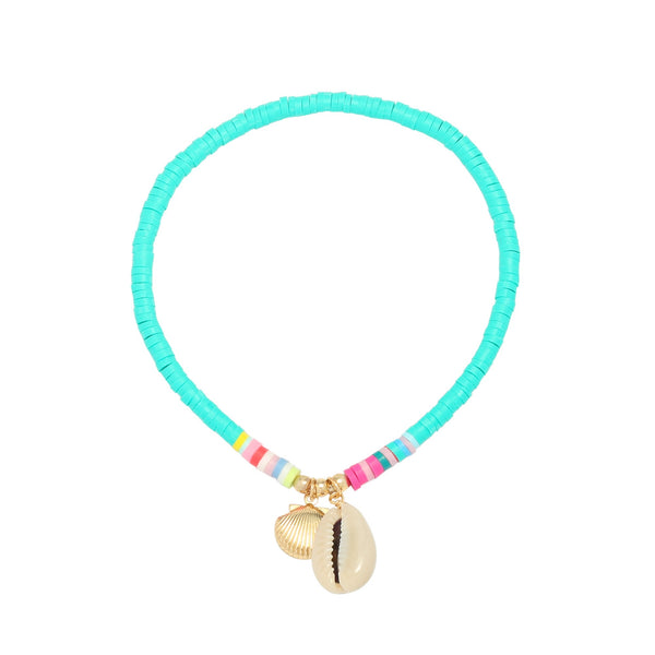 Beach Anklet Green
