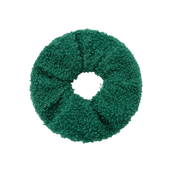 Teddy Scrunchie - Green
