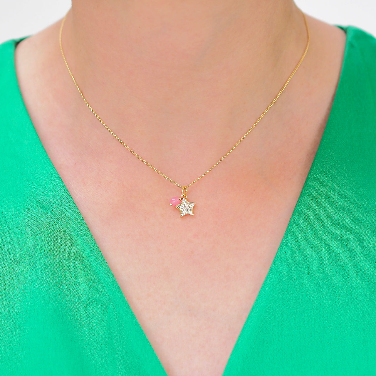 Sparkle Star Necklace Gold | Gift Pop Boutique