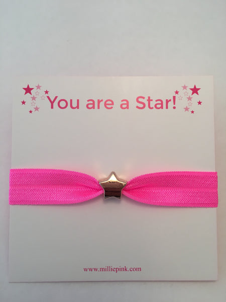 You are a star! Pink Star Hairband