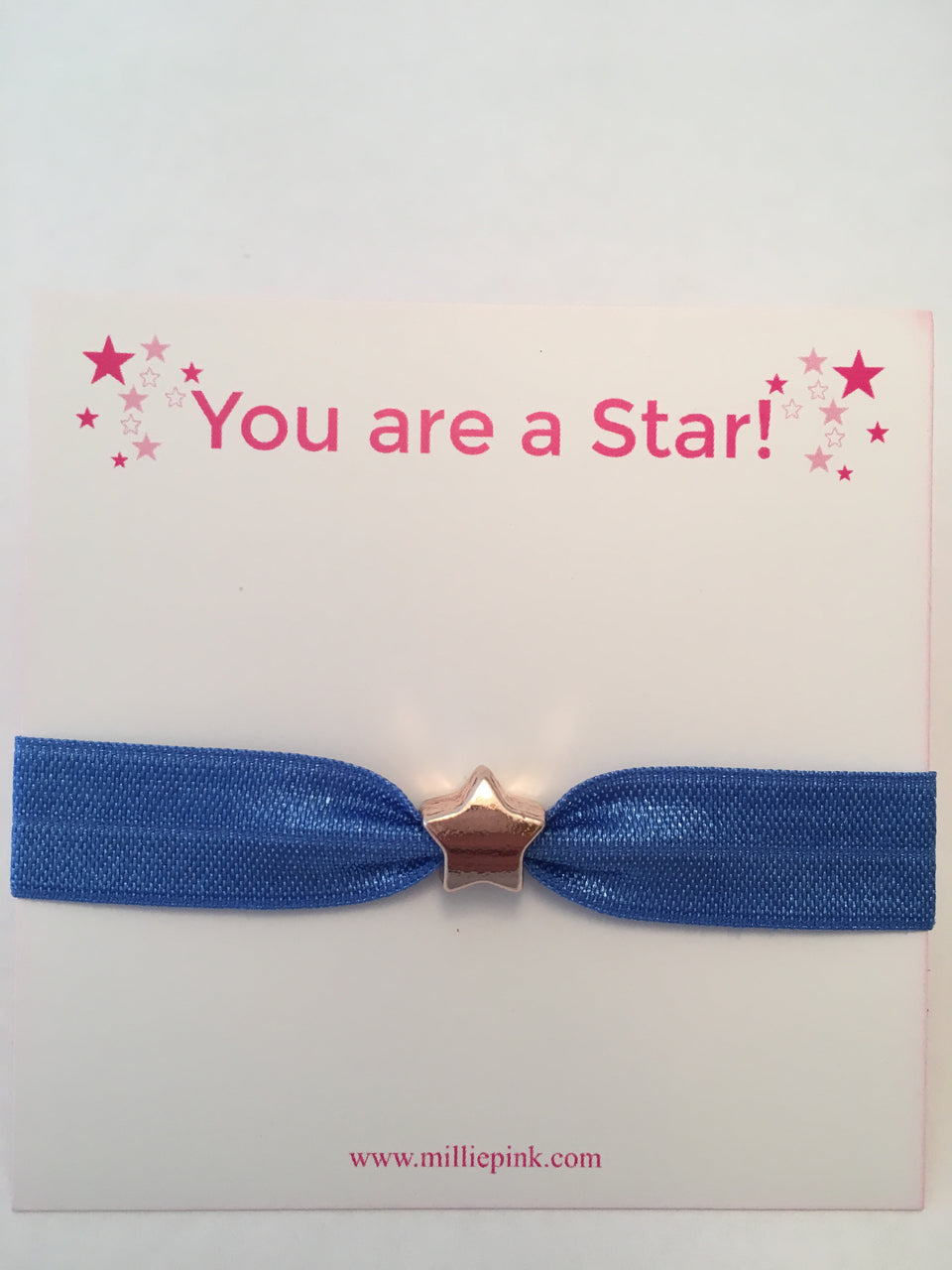 You are a star! Blue Star Hairband
