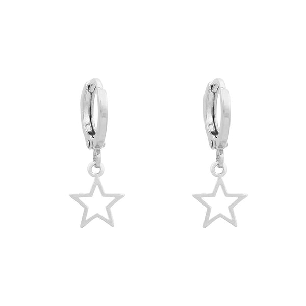 Mini Hoop Rockstar Silver | Gift Pop Boutique