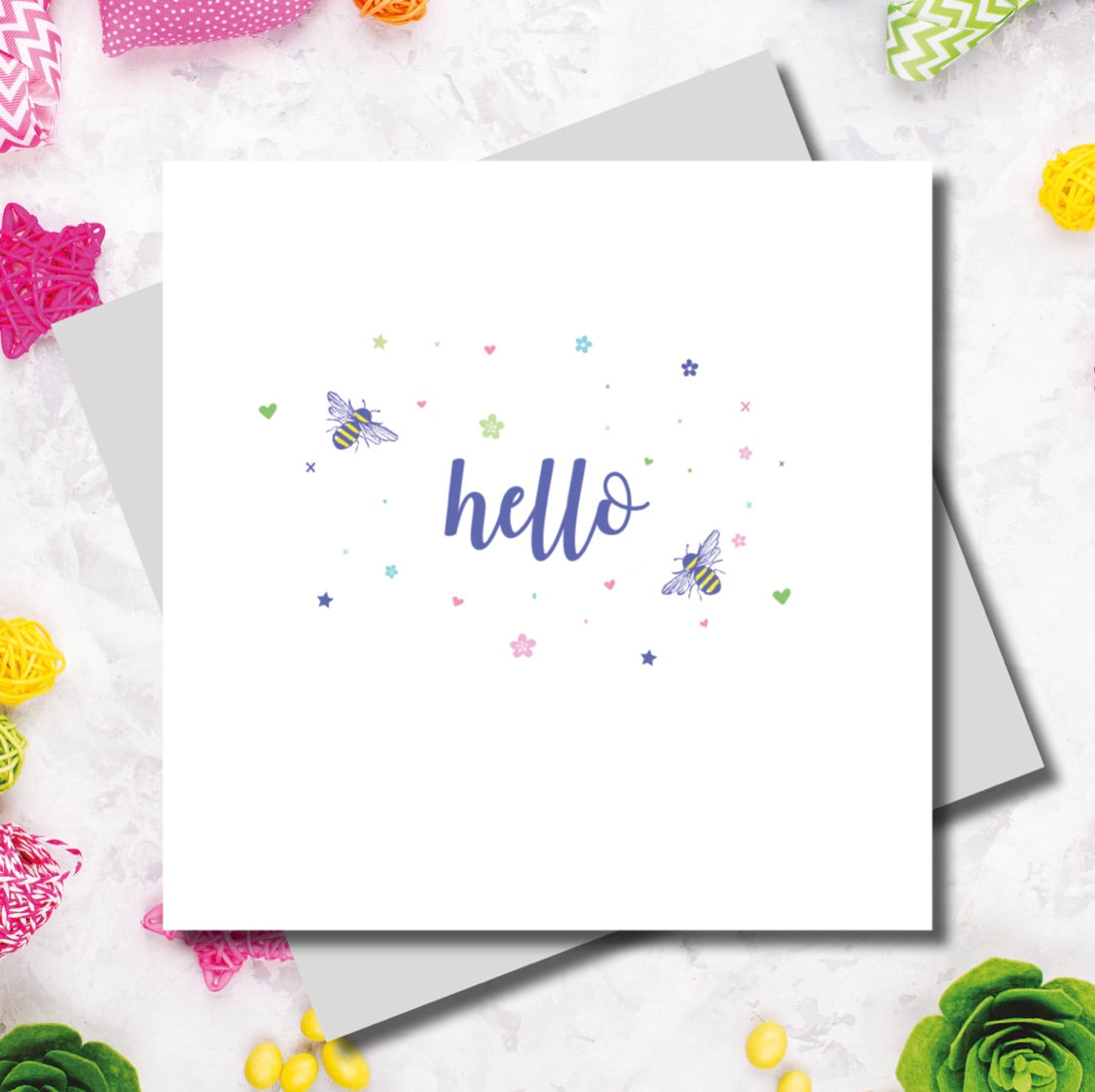 Hello Card | Gift Pop Boutique