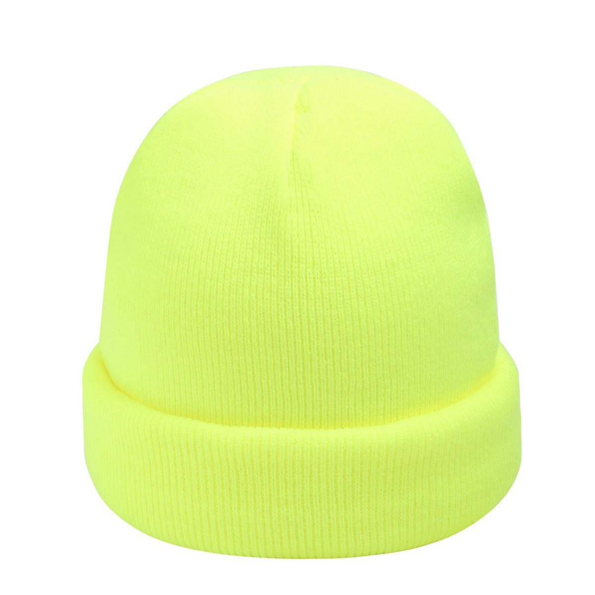 Beanie Neon Yellow | Gift Pop Boutique