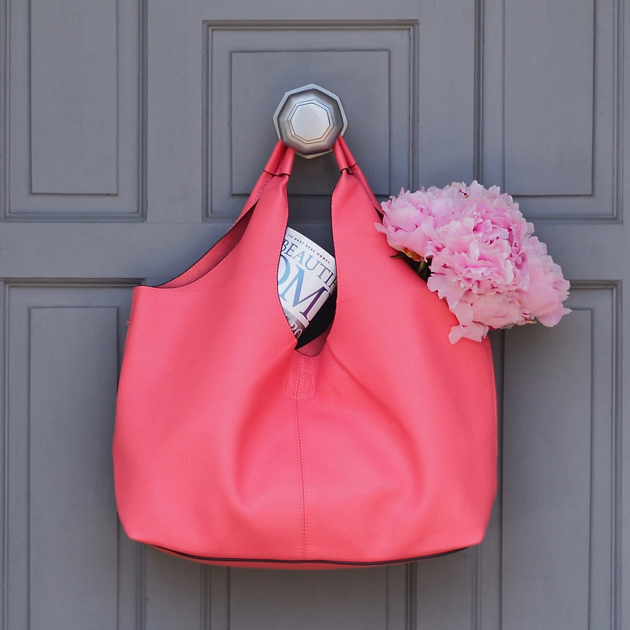 Coral Tote | Gift Pop Boutique