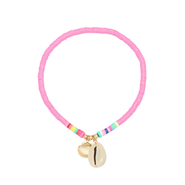 Beach Anklet Pink