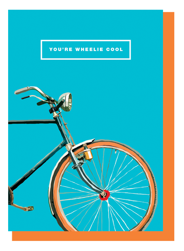 You're Wheelie Cool Card | Gift Pop Boutique