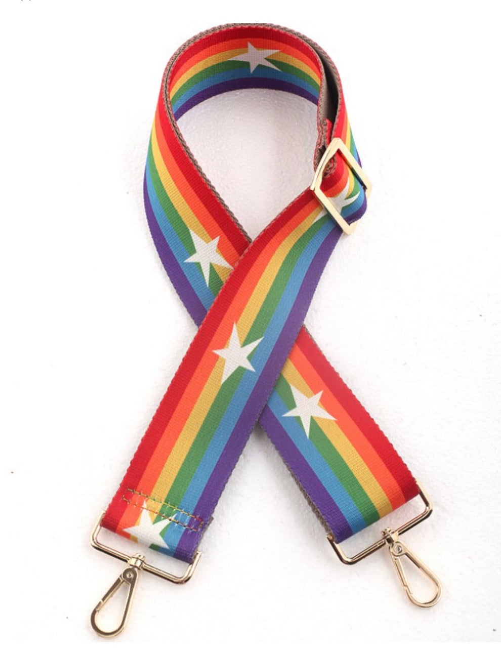 Rainbow and Silver Stars Strap | Gift Pop Boutique