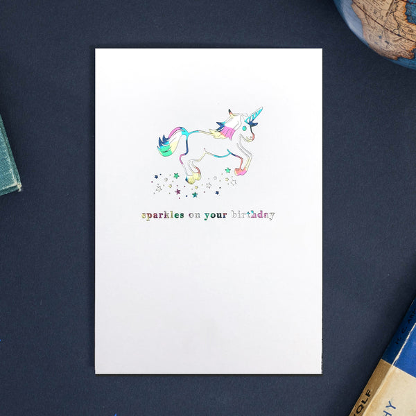 Birthday Sparkles Card