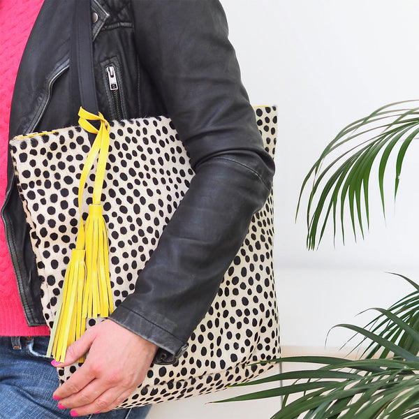 The Dottie Bucket Bag – Yellow | Gift Pop Boutique