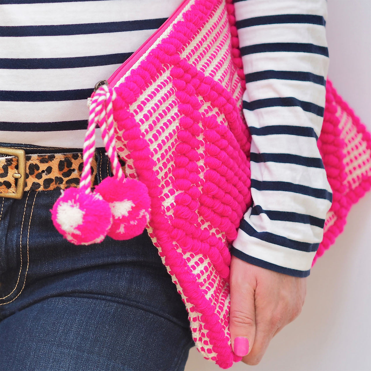 Bhavy Clutch - Hot Pink | Gift Pop Boutique