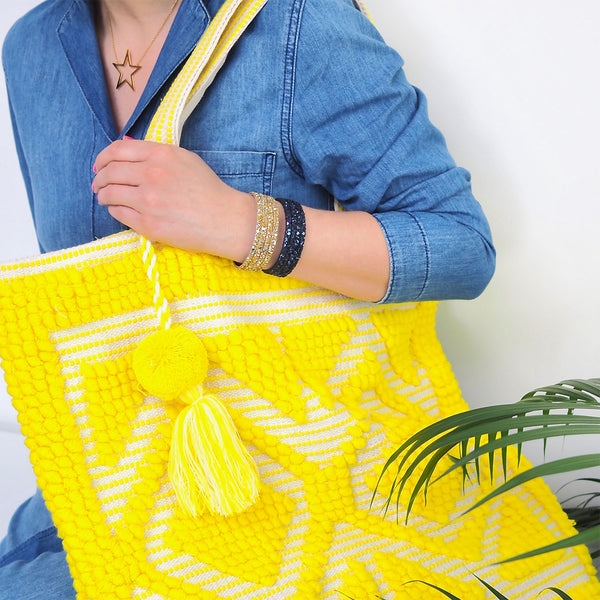 Bhavy Bag – Sunshine Yellow | Gift Pop Boutique