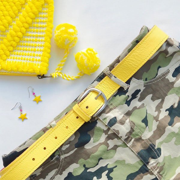 Bright Belt - Yellow | Gift Pop Boutique
