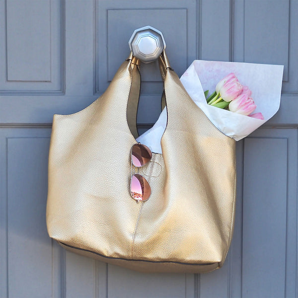 Classic Gold Tote | Gift Pop Boutique