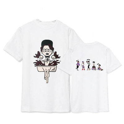 (All BIAS's) SHINee V World Tour Cartoon T-Shirt