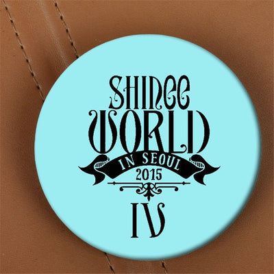 SHINee World In Seoul IV Brooch Pins