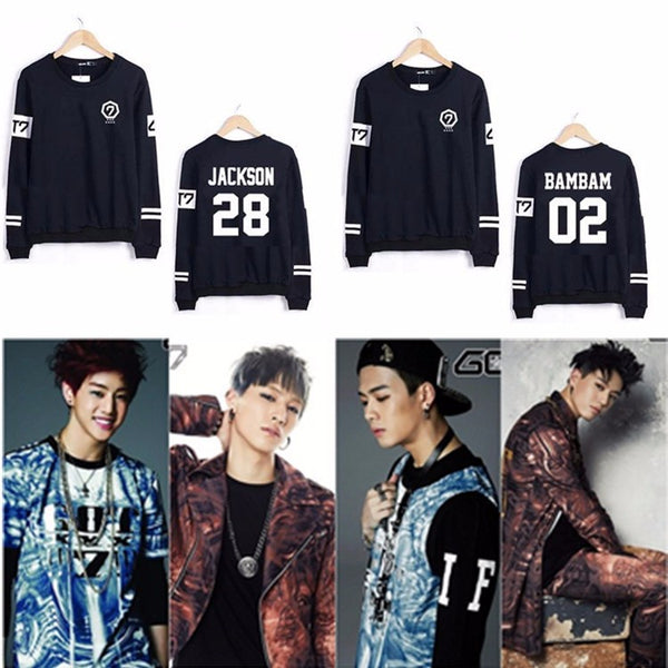 (All BIAS Names) GOT7 Black Sweatshirt