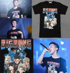 Big Bang BIGBANG MADE Tour Official T-Shirt Tee Shirt G-Dragon T.O.P V.I D-Lite SOL Mega K-Pop