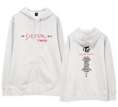 Twice Signal Hoodie With All Names