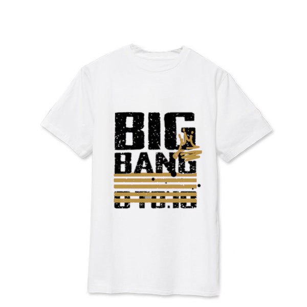 Big Bang BIGBANG 2017 0.TO.10 Tour Official T-Shirt Tee Shirt G-Dragon T.O.P V.I D-Lite SOL Mega K-Pop