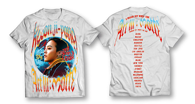 Big Bang BIGBANG Act III: M.O.T.T.E G-Dragon Kwon Ji Yong Official T-Shirt Tee Shirt World Tour
