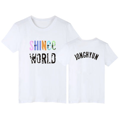 (All BIAS Names) SHINee World T-Shirt