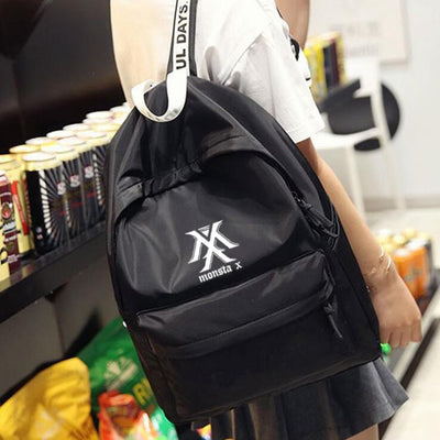 Monsta X Black Backpack