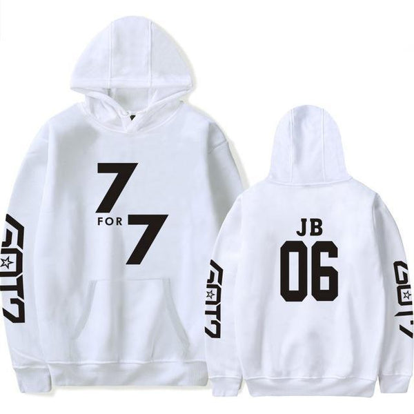 (All BIAS Names) GOT7 7 For 7 Hoodie