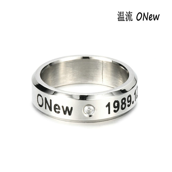 (All BIAS Names) SHINee BDAY Ring