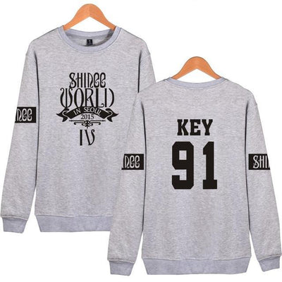 (All BIAS Names) SHINee World In Seoul IV Sweatshirt