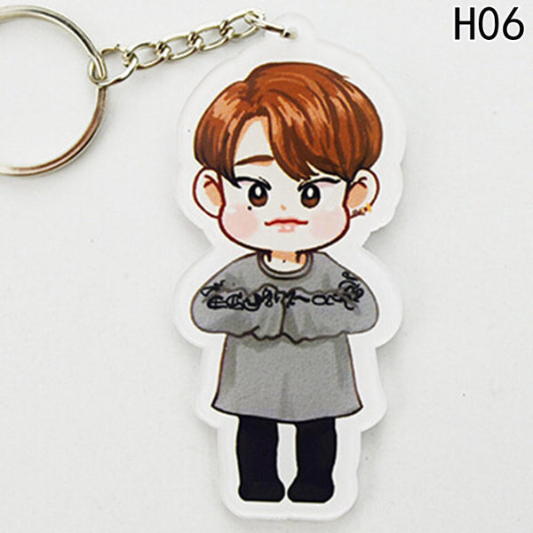 (All Members) GOT7 Cartoon Key Chain