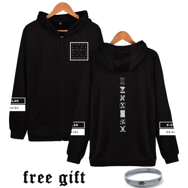 Monsta X Clan Origins Zipped Hoodie