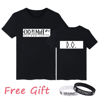 (All BIAS Names) EXOPlanet #2 Concert Black T-Shirt